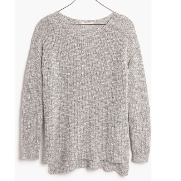 Madewell Eastbank pullover sweater